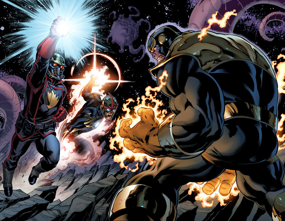 Richard Rideru0026#39;s Comic Return Preview!! Featuring Star-Lord u0026 Thanos ...