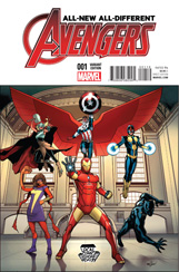 All-New, All-Different Avengers #1 Local Comic Shop Day Variant