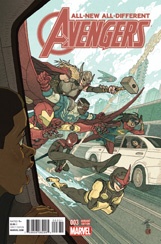 All-New, All-Different Avengers #3 Afu Chan Variant