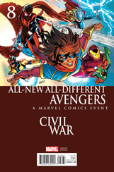 All-New, All-Different Avengers #8 Civil War Variant