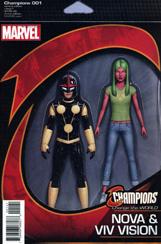 Champions #1 Action Figure Variant