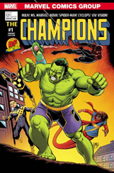 Champions #1 Dynamic Forces Variant