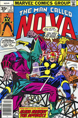 The Man Called Nova #11 35 Cent Variant