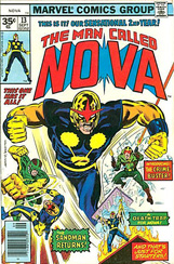 The Man Called Nova #13 35 Cent Variant
