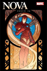 Nova (2007) #36 Iron Man By Design Variant