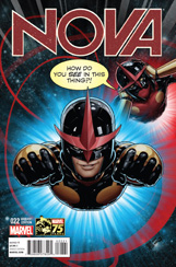 Nova (2013) #22 Deadpool 75th Variant