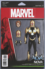 Nova (2016) #1 Action Figure Variant