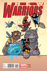New Warriors (2014) #1 Skottie Young Variant