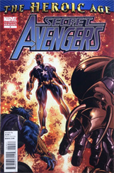Secret Avengers #4 2nd Printing Variant